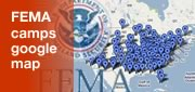 FEMA Camps Google Map