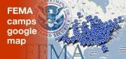 FEMA Camps Google Map
