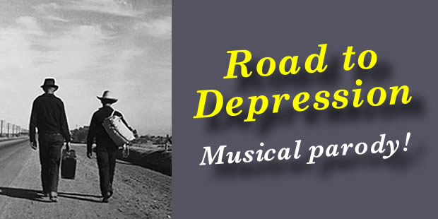 road to depression